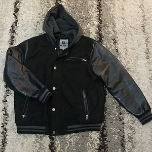 🥇Black black Winter coat